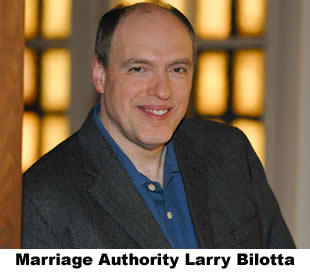 Marriage authority Larry Bilotta